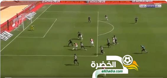 اسلام سليماني يسجل اول اهدافه مع موناكو ضد نيم 24