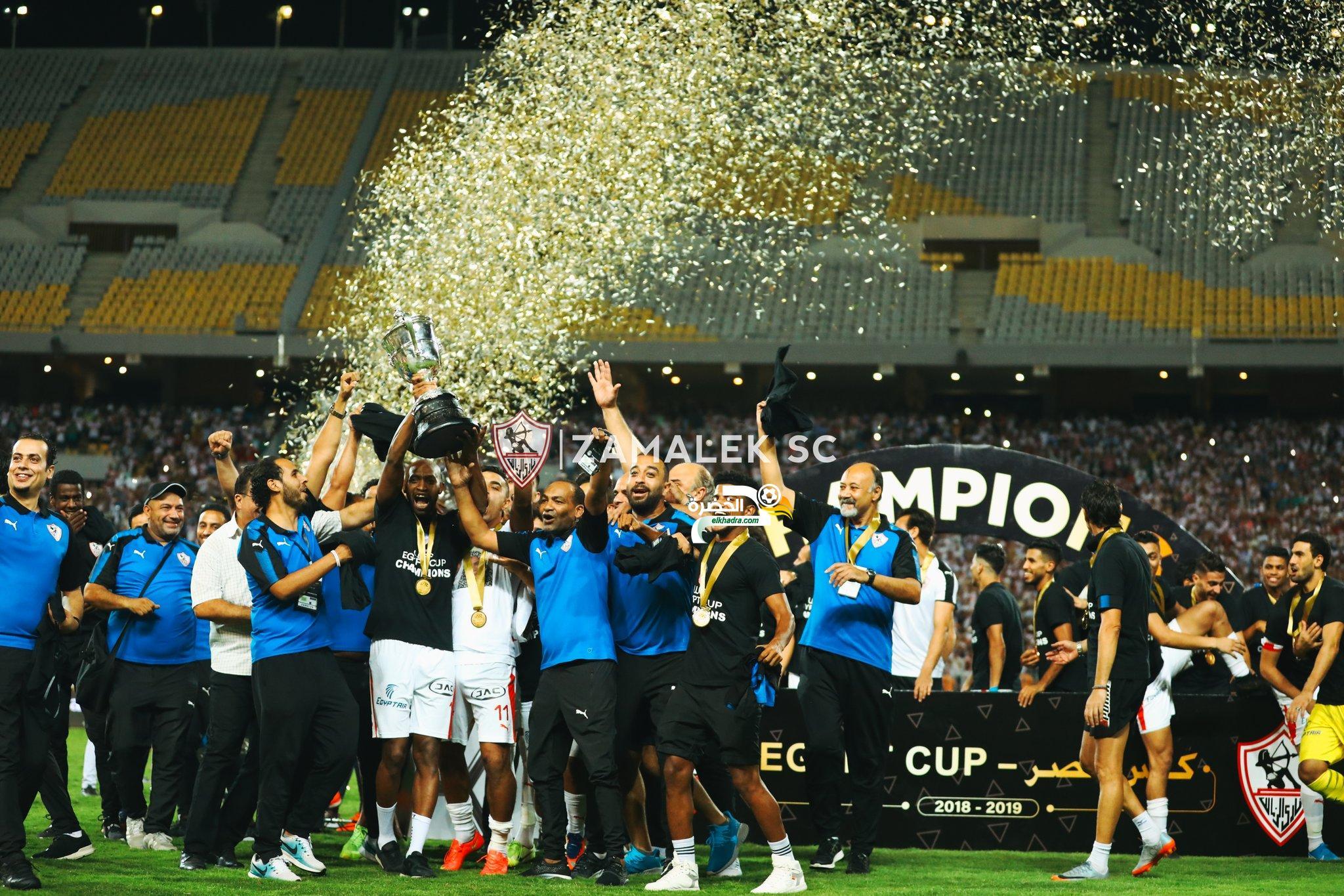 الزمالك يتوج بكأس مصر للمرة الـ27 في تاريخه 31
