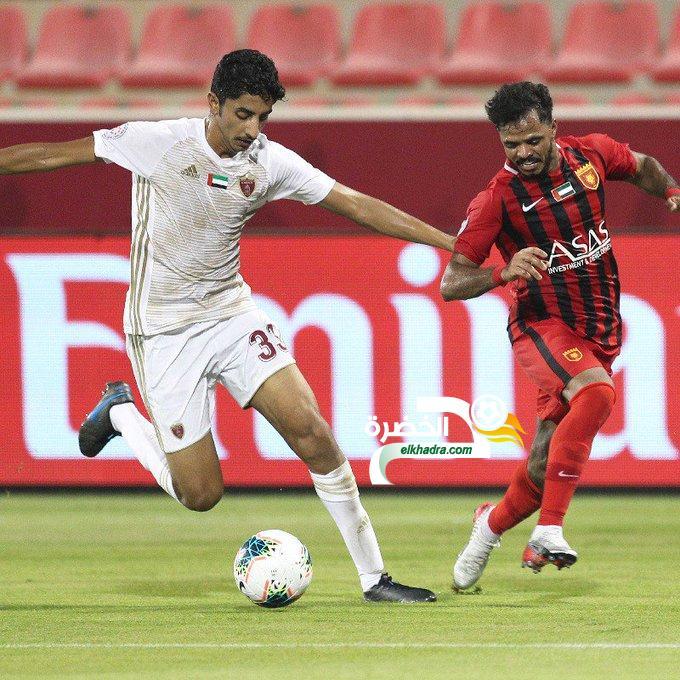 بوقرة يفوز مع الفجيرة محققا أولى مفاجآت الدوري الاماراتي 29