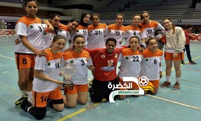 المجمع البترولي يتوج بكأس السوبر الجزائري لكرة اليد للسيدات 24