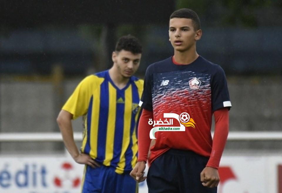 بدر الدين بوعناني اصغر لاعب مسجل في دوري ابطال اوروبا للشباب 24
