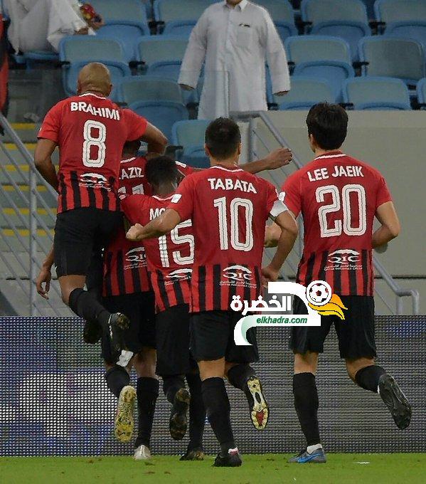 براهيمي هداف ويقود الريان لفوز قاتل على الأهلي 24