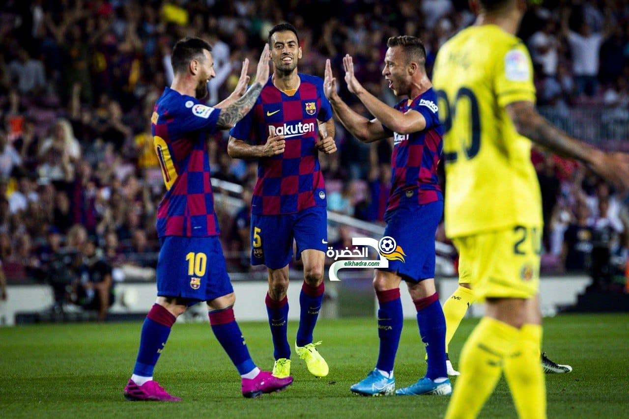 برشلونة يعود إلى سكة الانتصارات من بوابة فياريال 24