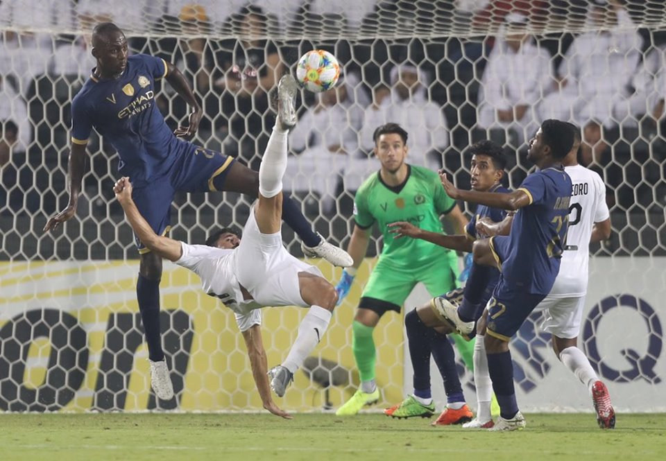 بونجاح يقود السد للفوز على النصر بثلاثية والتأهل لنصف نهائي دوري أبطال آسيا 24