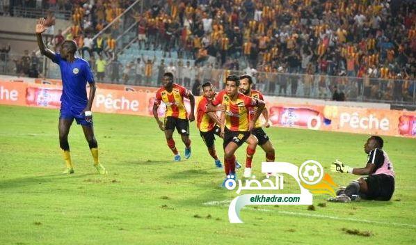 بن غيث هداف ويقود الترجي التونسي إلى مجموعات دوري الأبطال 23