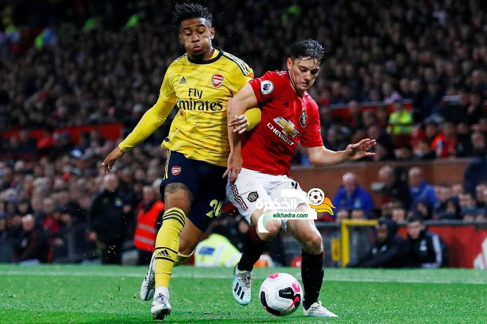 مانشستر يونايتد وأرسنال يفترقان على التعادل (1-1) 24