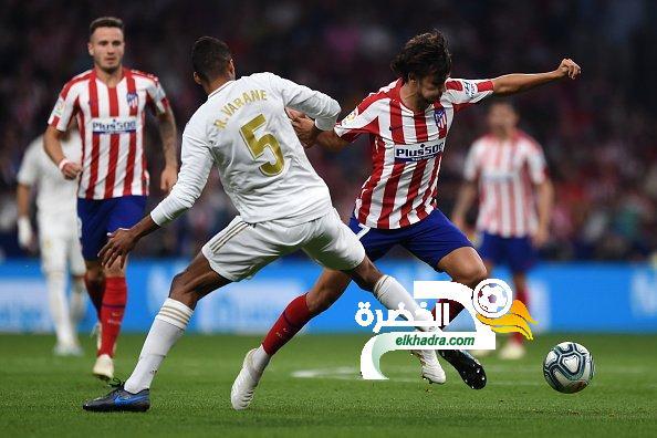 التعادل السلبي يحسم ديربي مدريد 24