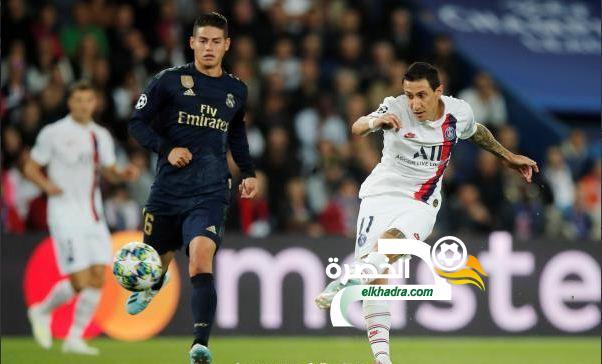 دي ماريا يقود باريس سان جيرمان للفوز على ريال مدريد بثلاثية 24