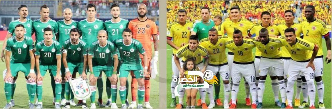 السلطات الفرنسية توافق على احتضان مباراة الجزائر وكولومبيا 24