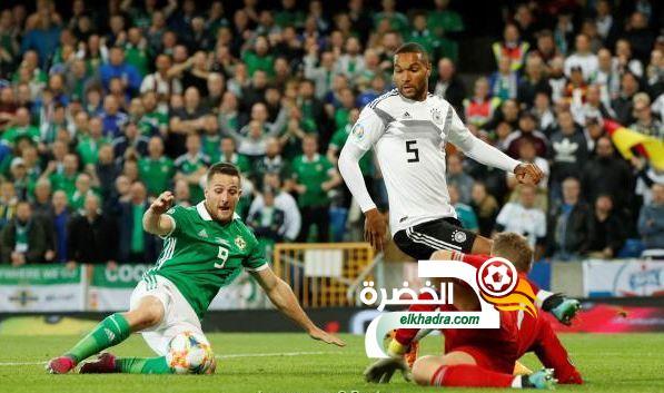 منتخب ألمانيا يفوز على إيرلندا الشمالية بثنائية في تصفيات يورو 2020 23