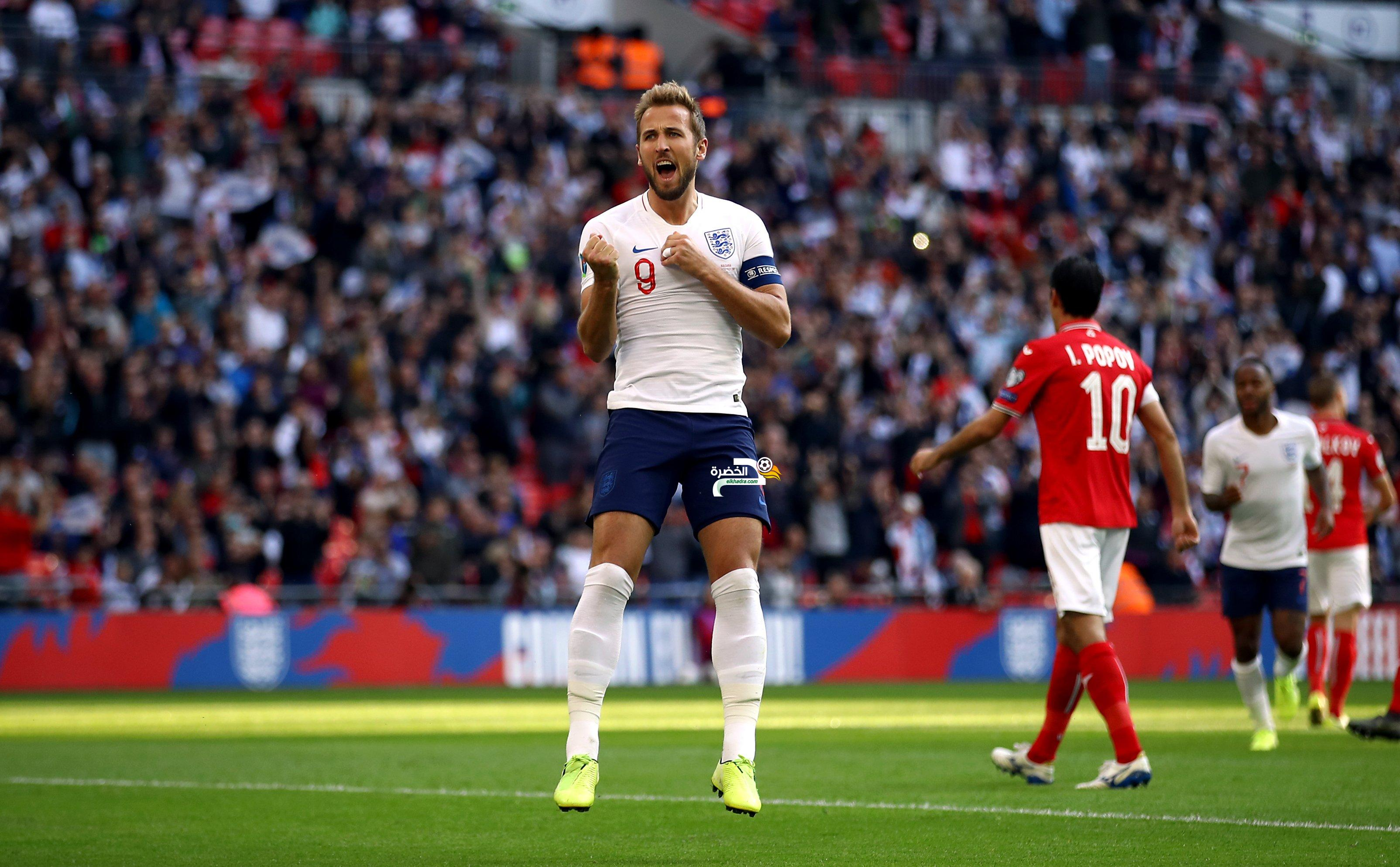 المنتخب الإنجليزي يفوز على بلغاريا برباعية في تصفيات يورو 2020 24