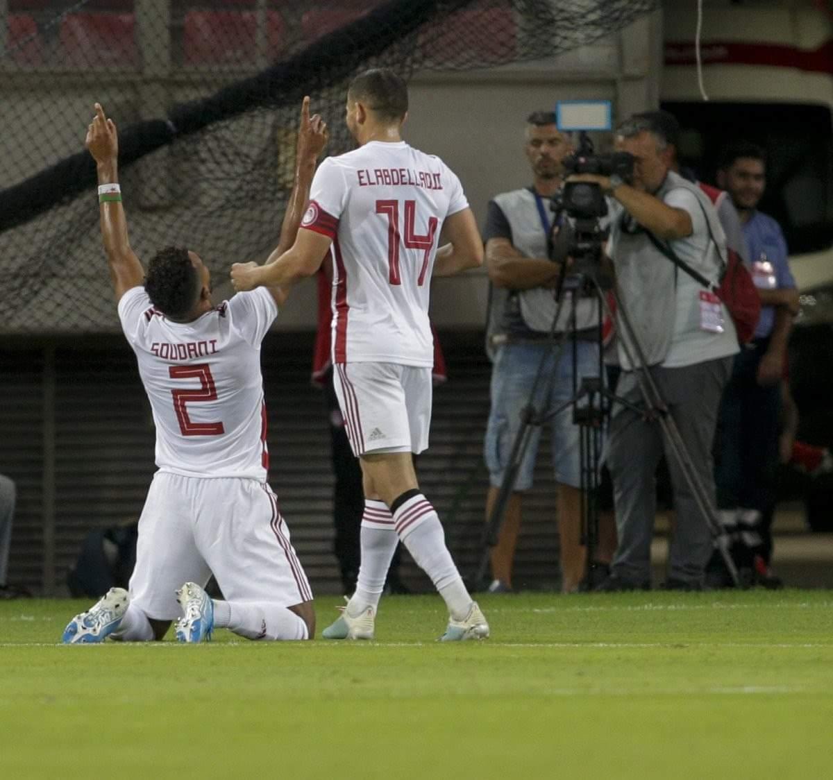 العربي هلال سوداني هداف مع فريقه أولمبياكوس 24