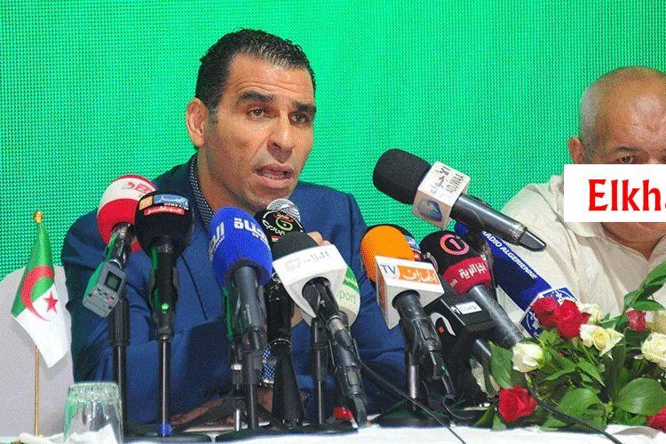 أبرز تصريحات رئيس الفاف زطشي خلال الجمعية العامة الاستثناءية 28