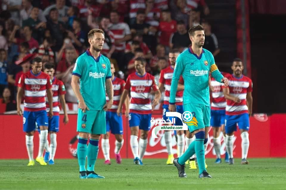 برشلونة يسقط بثنائية نظيفة أمام مستضيفه غرناطة 24