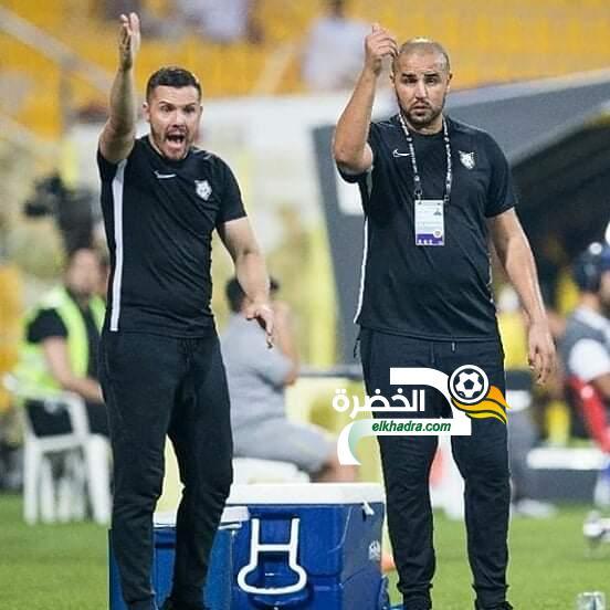 نادي الفجيرة بقيادة مجيد بوقرة يسقط أمام شباب الأهلي دبي بخماسية 25