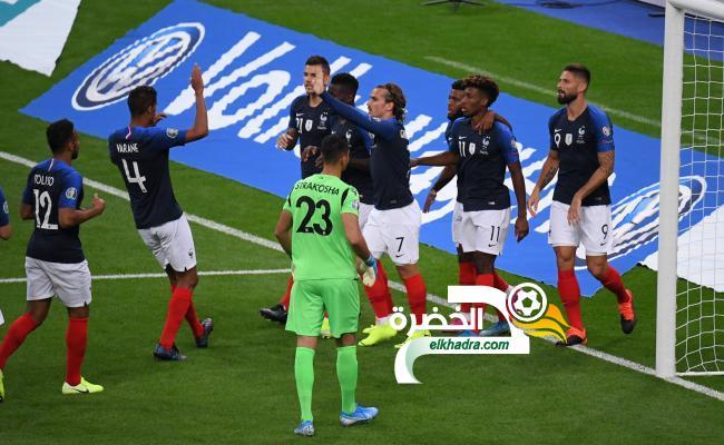 فرنسا تفوز على ألبانيا برباعية في تصفيات يورو 2020 24