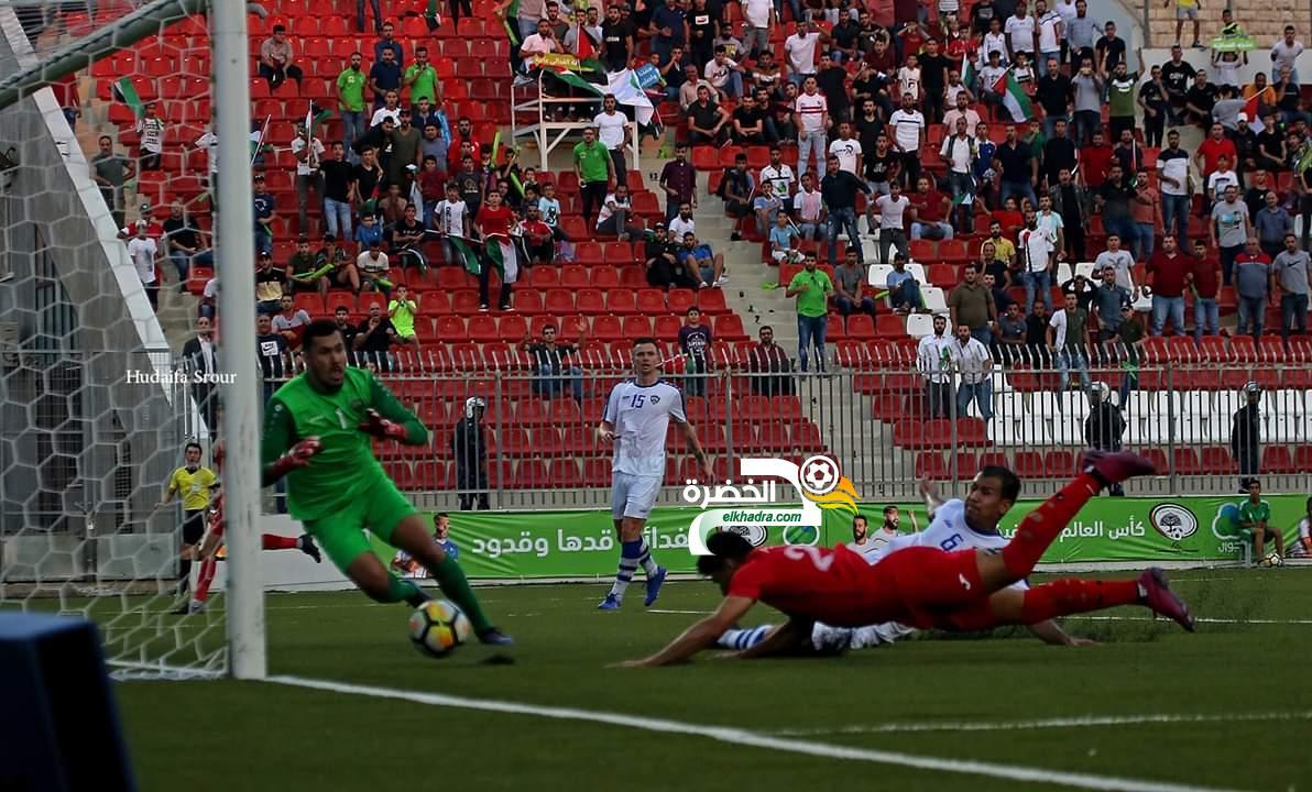 منتخب فلسطين يفوز على أوزبكستان بهدفين في تصفيات كأس العالم 2022 24