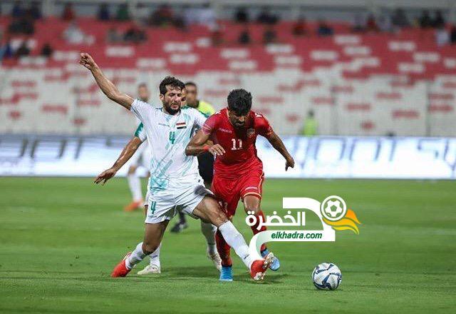 العراق يتعادل أمام البحرين في تصفيات كأس العالم 2022 24
