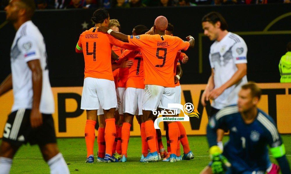 هولندا تطيح بألمانيا في تصفيات يورو 2020 24