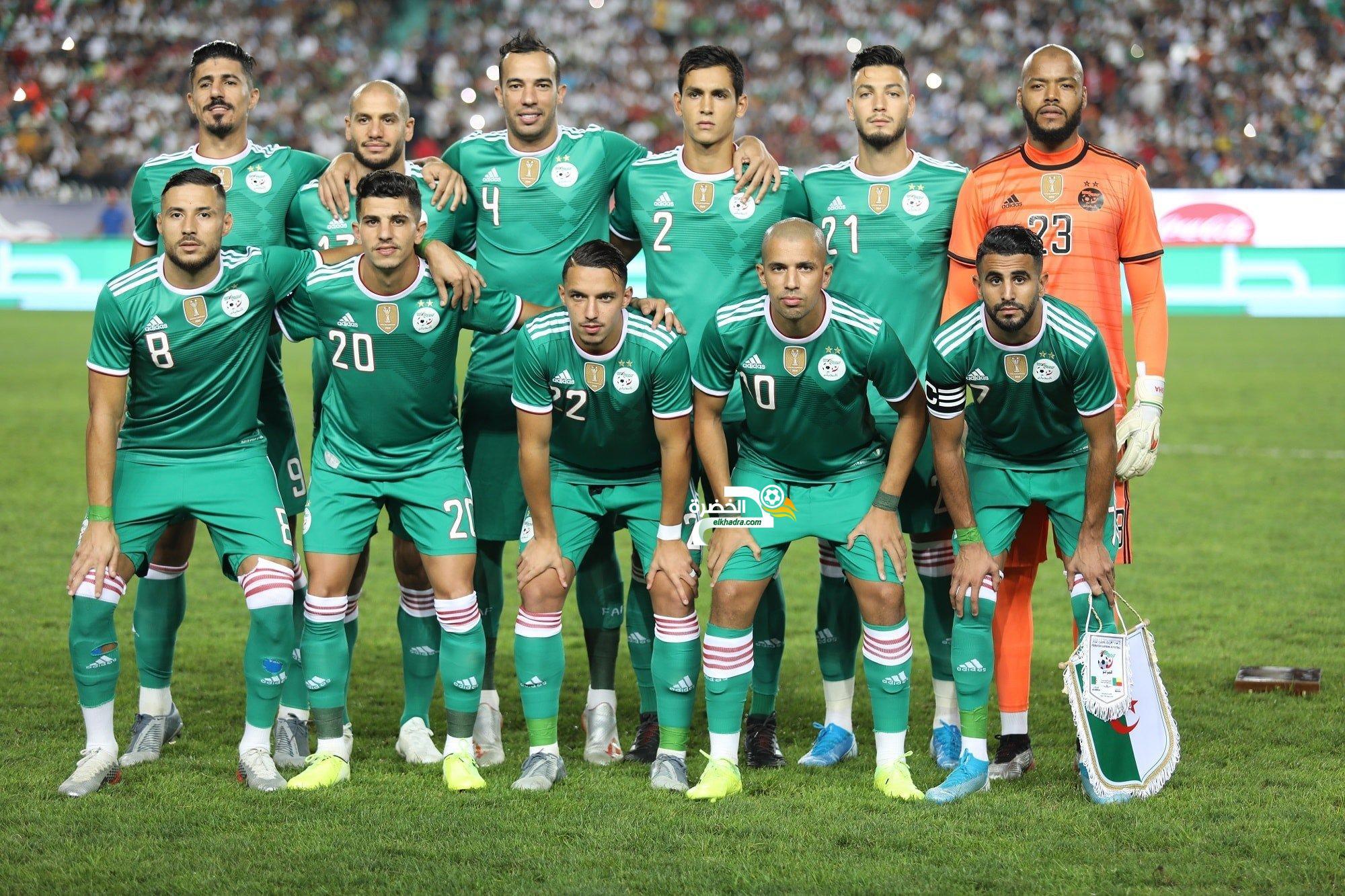 التشكيلة المتوقعة لمنتخب الجزائر ضد كولومبيا 22