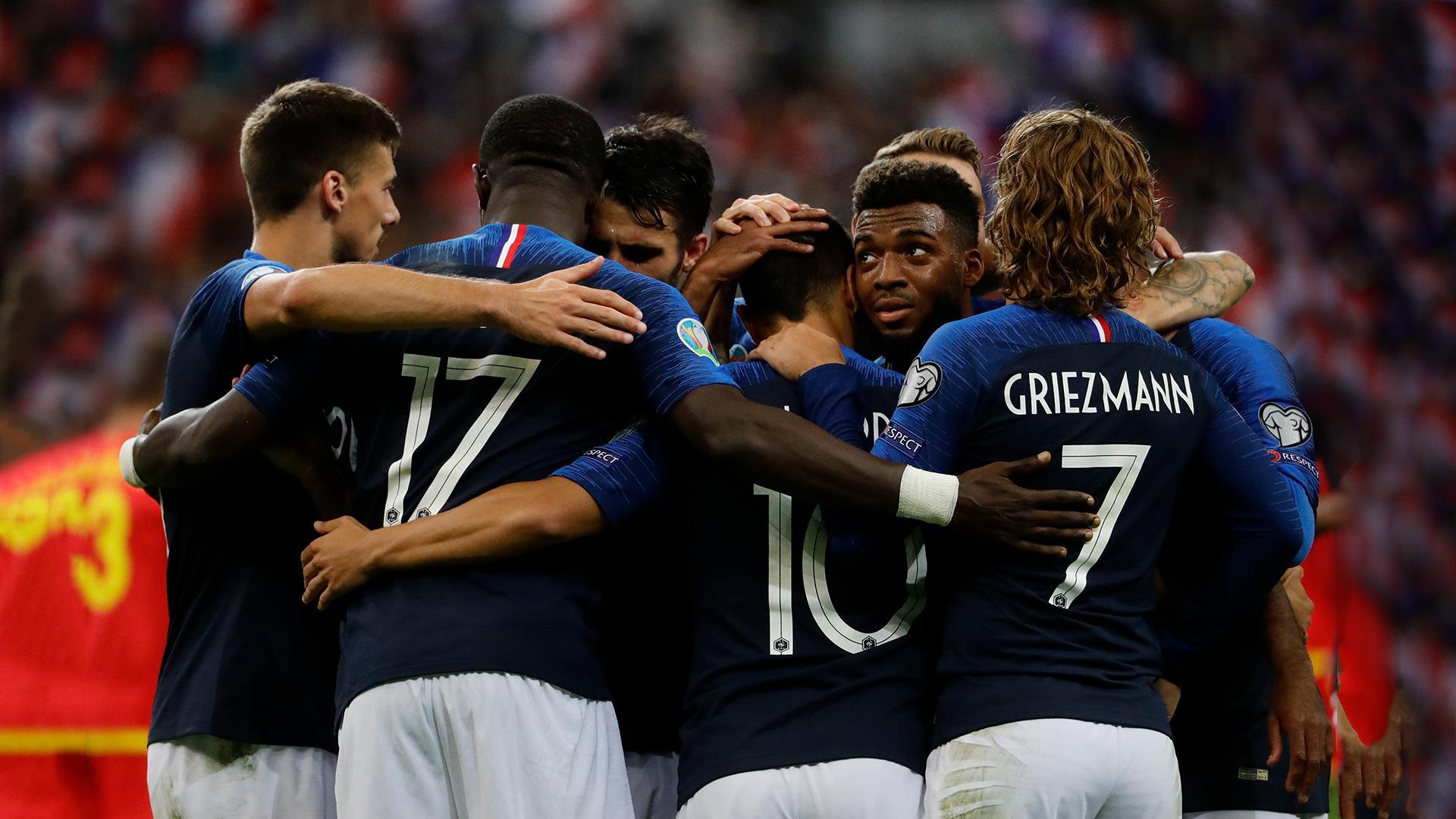 تصفيات يورو 2020 : بطلة العالم فرنسا تحقق فوزها الخامس على حساب الضيف أندورا 27