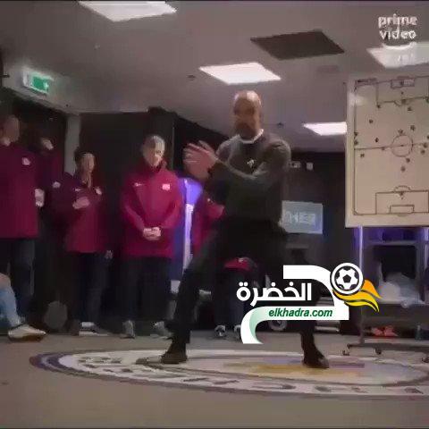 فيديو : غوارديولا يشرح خططه للاعبين بين الشوطين بطريقة مثيرة 24