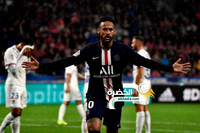 بهدف نيمار .. باريس سان جيرمان يفوز على ليون ويتصدر الدوري الفرنسي 24