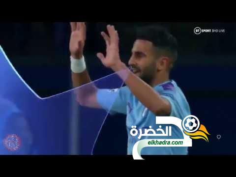 كل ما فعله رياض محرز ضد شاختار في دوري أبطال أوروبا 18-09-2019 25