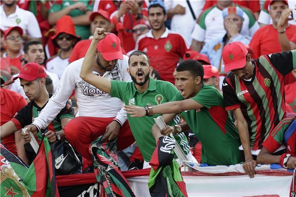 مقابلة المغرب وليبيا بشبابيك مغلقة 24