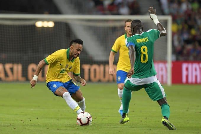 السنغال تفرض التعادل على البرازيل ودياً 18