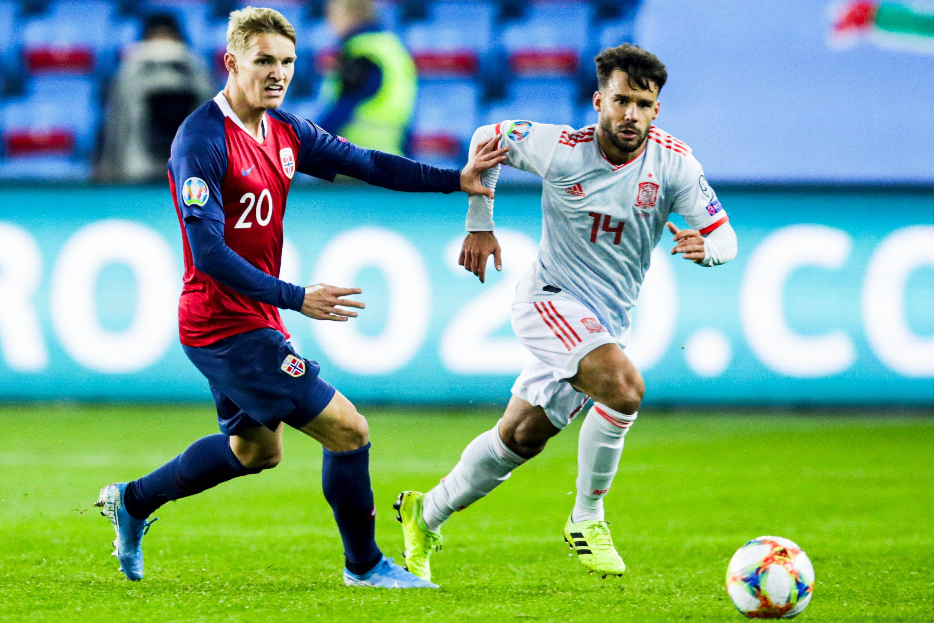 النرويج تفرض التعادل على إسبانيا ضمن التصفيات الأوروبية 20
