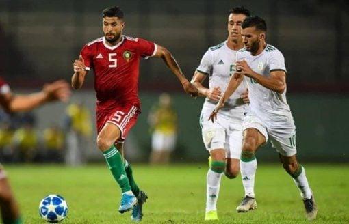 المنتخب الجزائري للمحليين يتلقى هزيمة مذلة امام المغرب بثلاثية 34