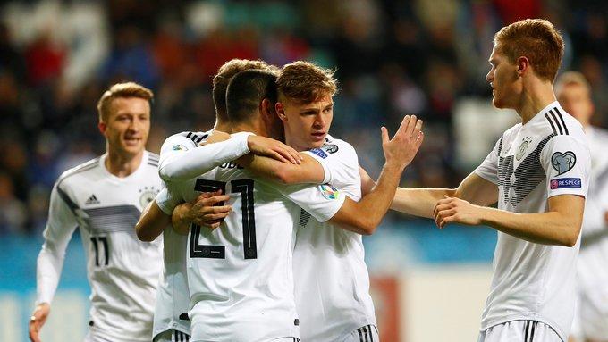 منتخب ألمانيا يفوز على إستونيا بثلاثية نظيفة 19