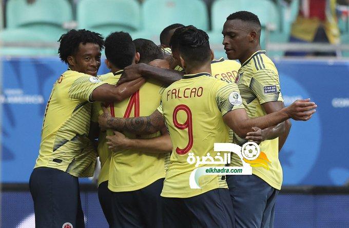 مدرب كولومبيا يكشف عن القائمة التى تواجه منتخب الجزائر 24