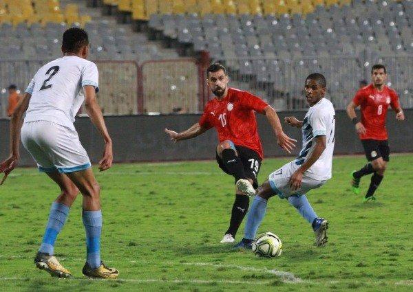 منتخب مصريفوز على ضيفهبوتسوانافي لقاء ودي 17
