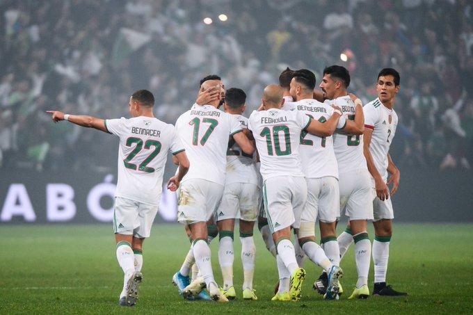 مباراة ودية بين الجزائر و هولندا قبل يورو 2020 25