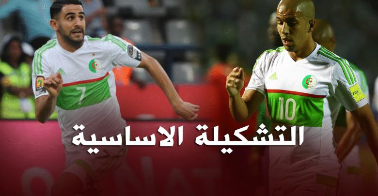 تشكيلة جديدة للمنتخب الجزائري ضد الكونغو الديمقراطية 24