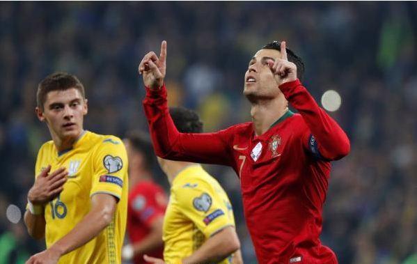 رونالدو يقود البرتغال لتحقيق فوز كبير على نظيره الصربي 27