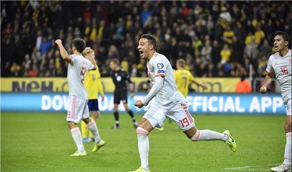 المنتخب الإسباني يحسم تأهله لنهائيات يورو 2020 19