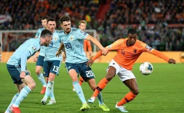 المنتخب الهولندي يفوز على أيرلندا الشمالية في تصفيات يورو 2020 24