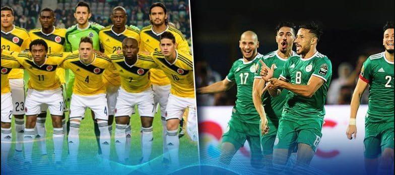 القنوات الناقلة لمباراة الجزائر وكولومبيا اليوم 15-10-2019 Algérie vs Colombie 24