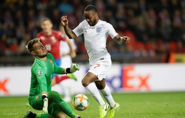 المنتخب الإنجليزي ينهزم أمام تشيكيا في تصفيات كأس أوروبا 2020 22