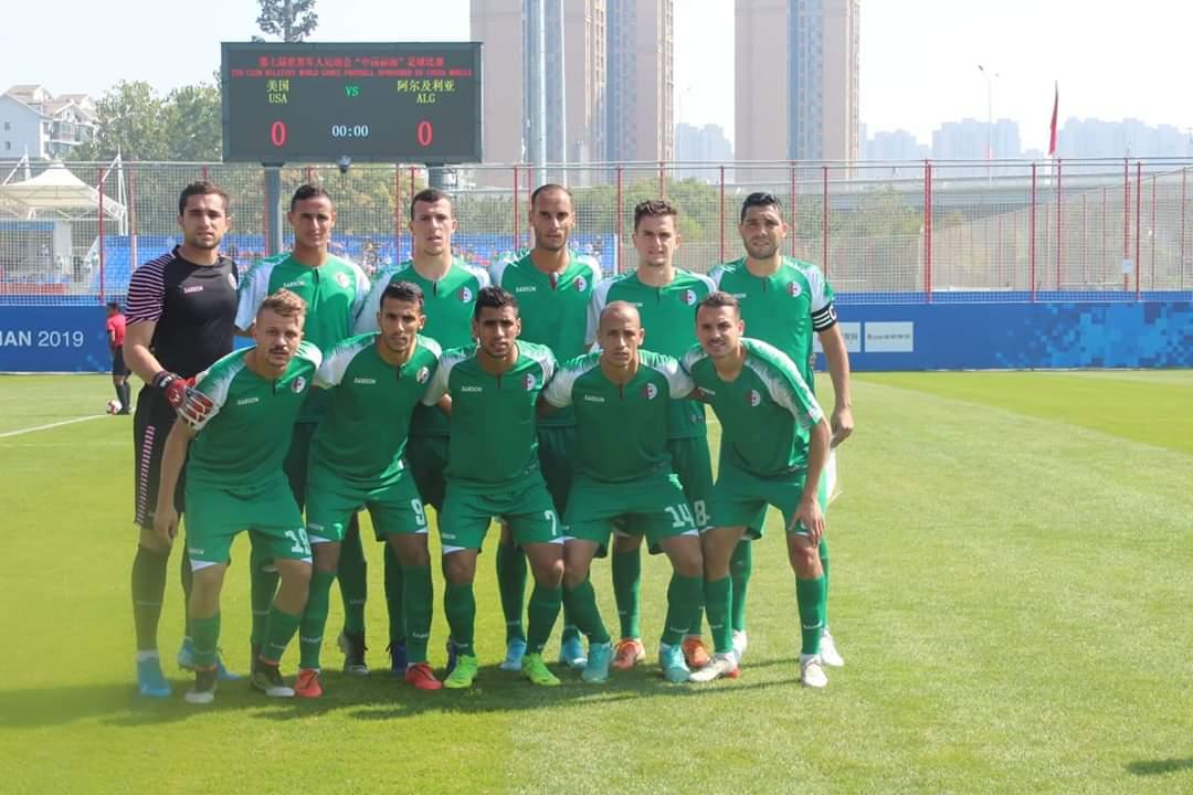 المنتخب الجزائري العسكري يسحق المنتخب الأمريكي 8-0 33