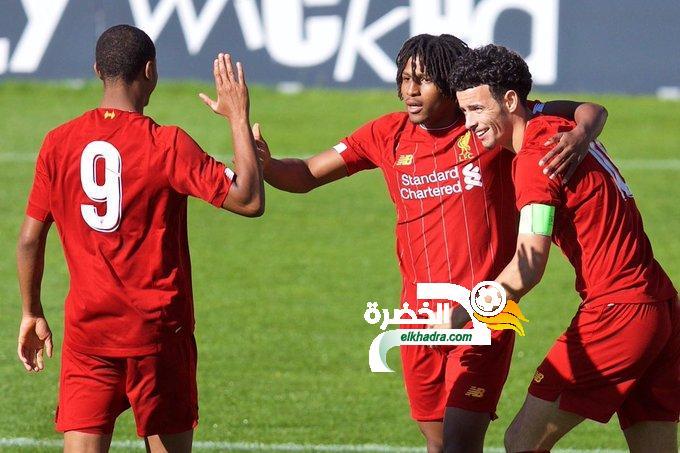 ياسر لعروسي هداف وممرر حاسم في دوري أبطال أوروبا للشباب 24