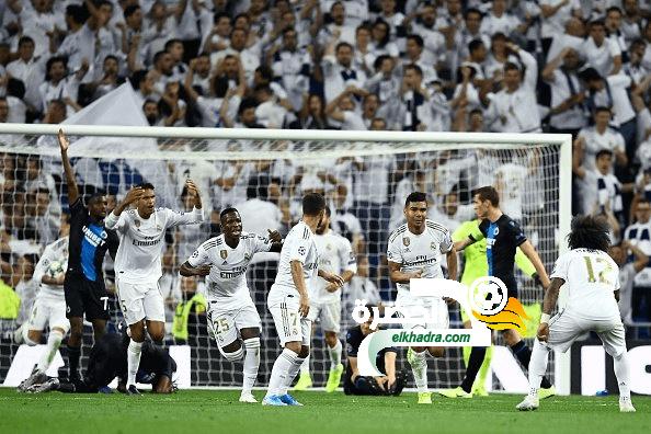 ريال مدريد يحقق تعادل صعب مع كلوب بروج في دوري الابطال 23
