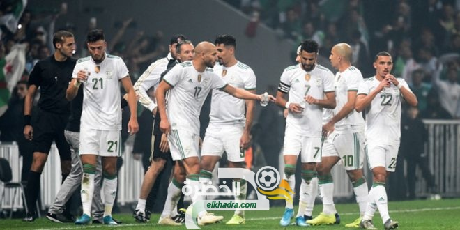 الجزائر - بوتسوانا : نتائج المباريات العشرة الأخيرة للخضر 96