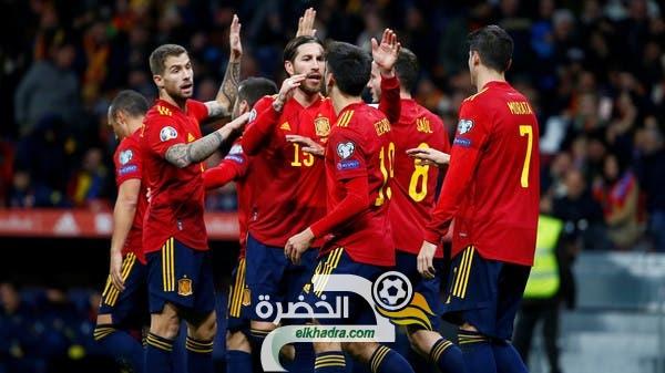 المنتخب الإسباني يفوز على رومانيا بخماسية نظيفة 27