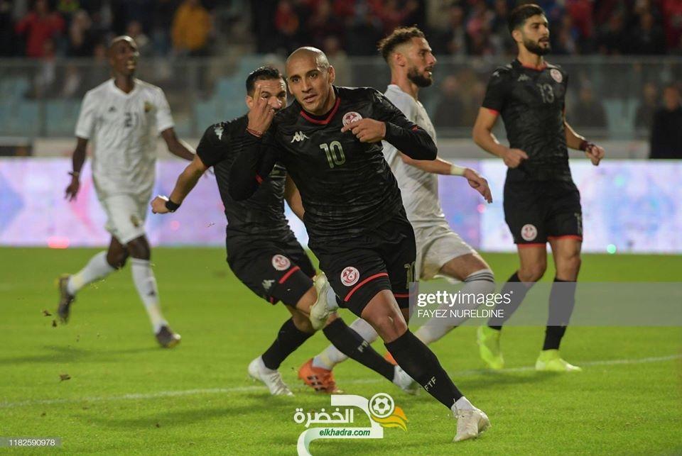 تصفيات كأس إفريقيا 2021 : المنتخب التونسي يفوز على نظيره الليبي بـرباعية 27