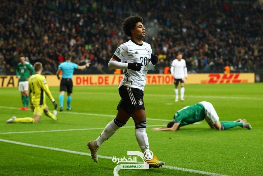 المنتخب الألماني يقسو على أيرلندا الشمالية بسداسية مقابل هدف وحيد 108