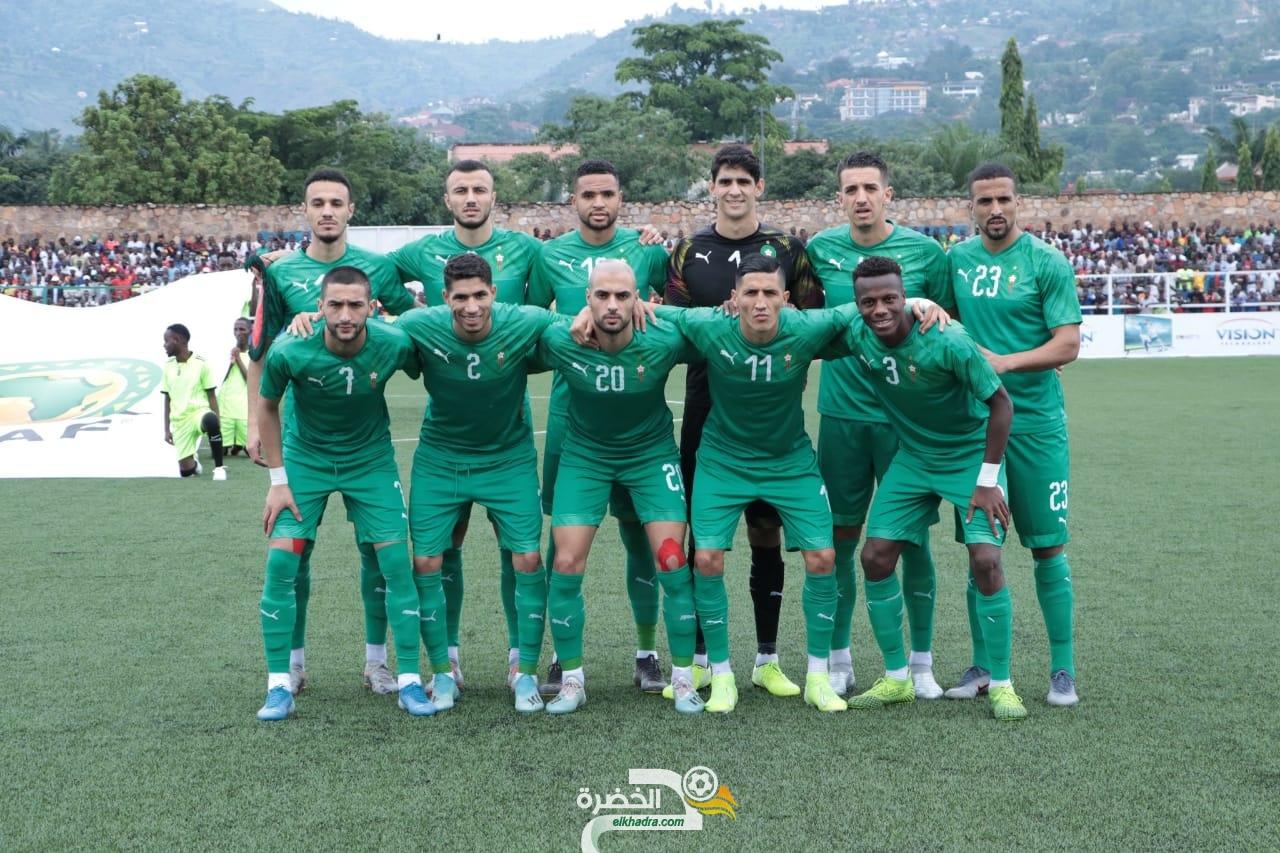 منتخب المغرب يفوز خارج ملعبه على بورندي بثلاثية 26
